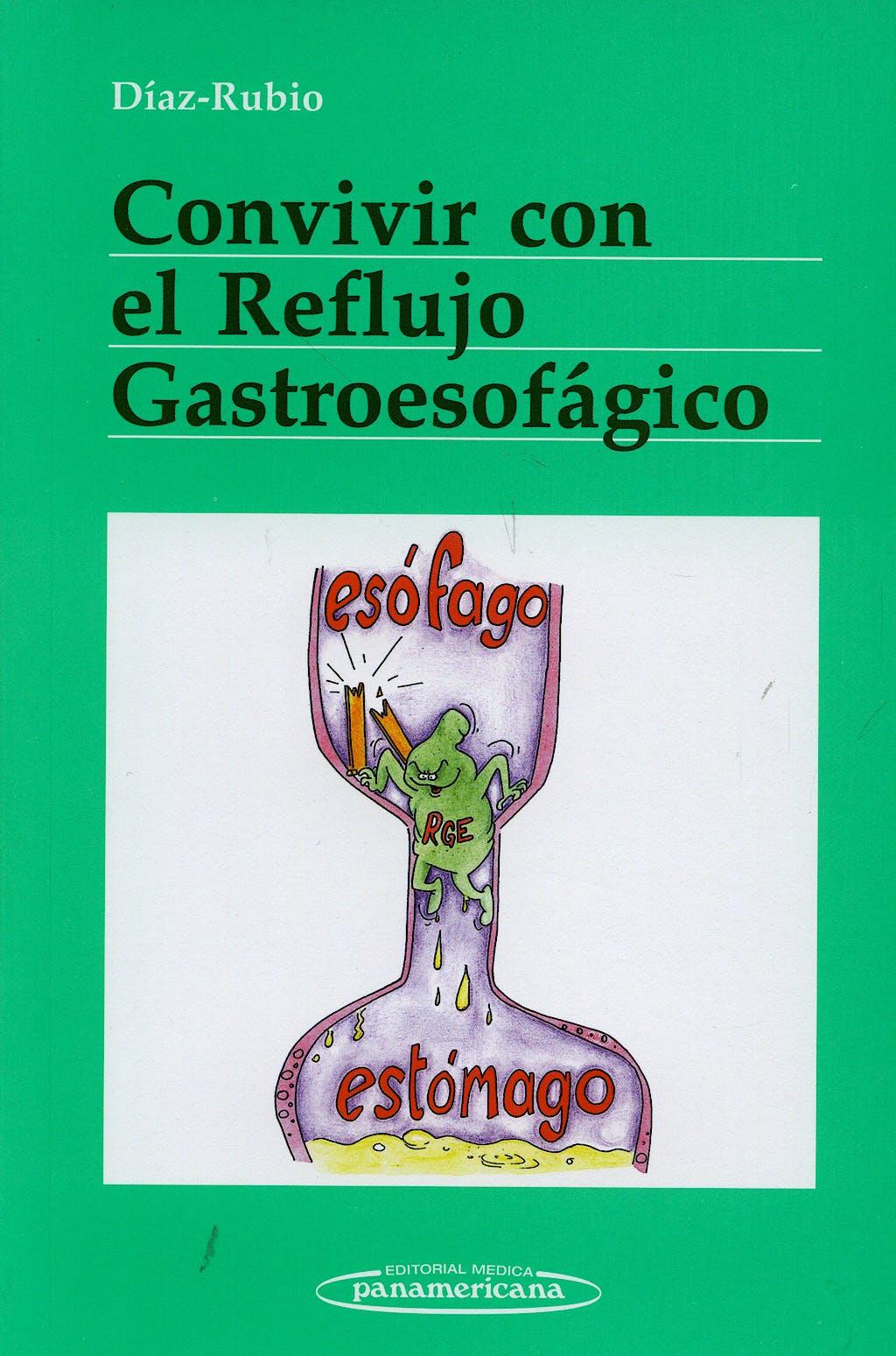 Portada del libro 9788498351170 Convivir con el Reflujo Gastroesofagico