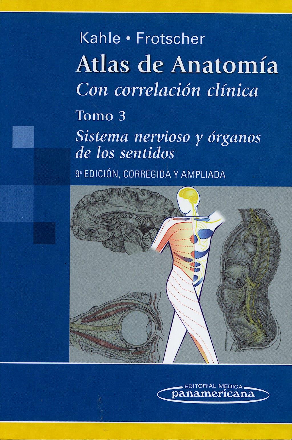 Producto: Atlas de Anatomía con Correlación Clínica, Tomo 3: Sistema ...