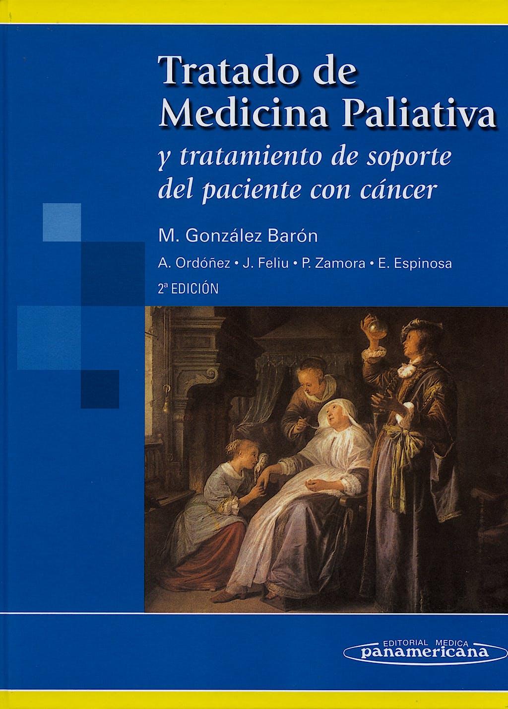 Portada del libro 9788498351316 Tratado de Medicina Paliativa y Tratamiento de Soporte del Paciente con Cáncer