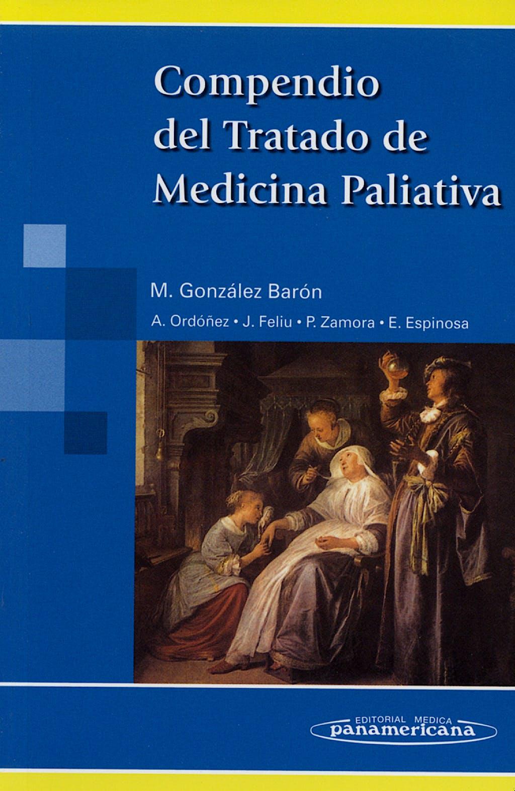 Portada del libro 9788498351330 Compendio del Tratado de Medicina Paliativa