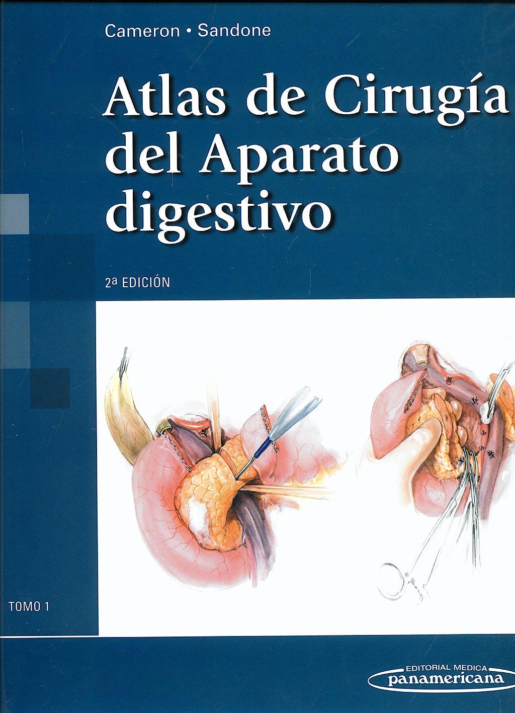Portada del libro 9788498351354 Atlas de Cirugía del Aparato Digestivo, Tomo 1
