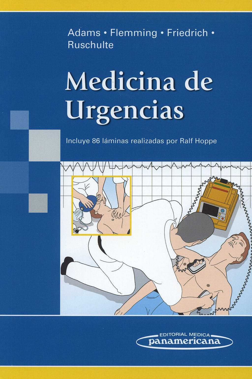 Portada del libro 9788498351576 Medicina de Urgencias