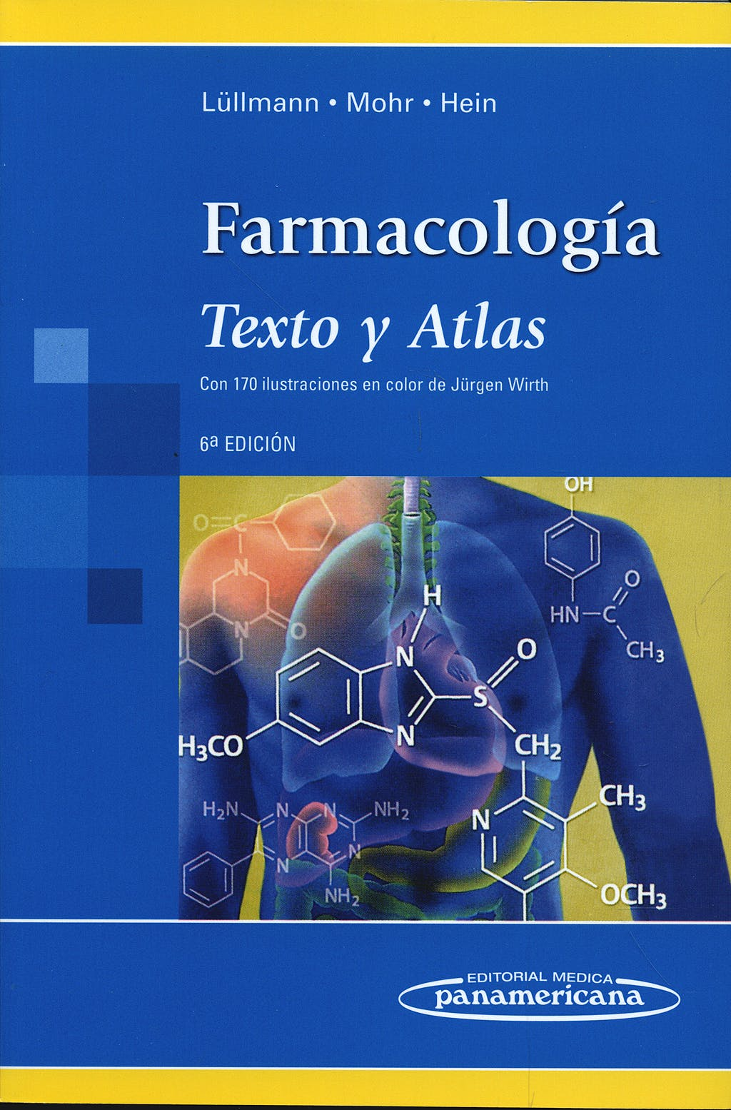 Portada del libro 9788498352177 Farmacología. Texto y Atlas