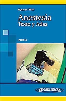 Portada del libro 9788498352801 Anestesia. Texto y Atlas