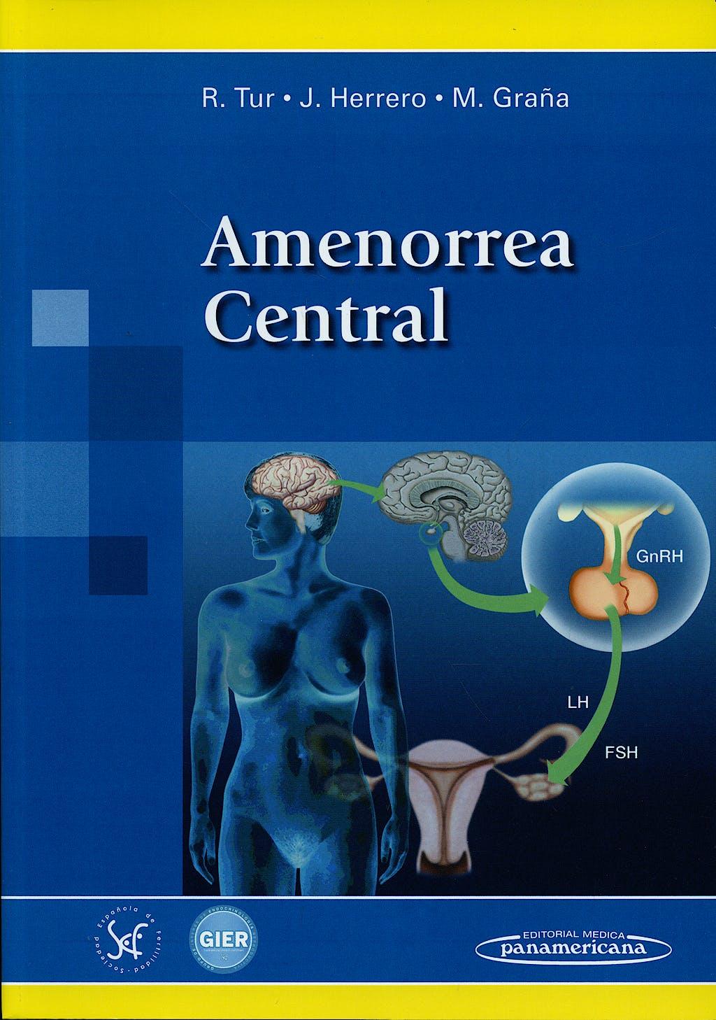 Portada del libro 9788498353198 Amenorrea Central