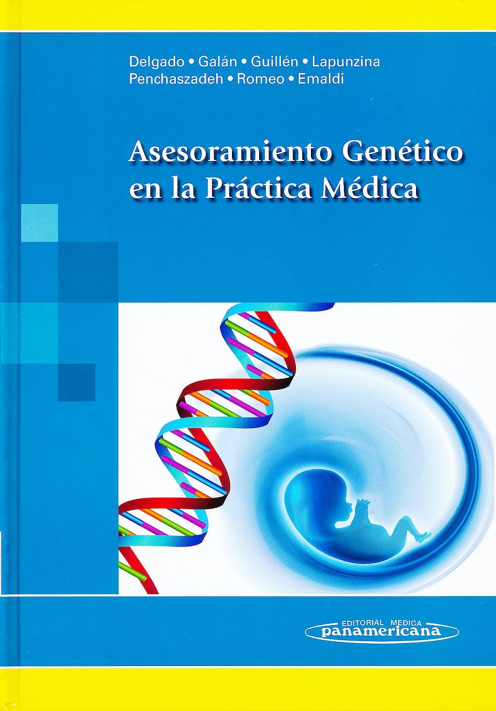 Portada del libro 9788498353846 Asesoramiento Genetico en la Practica Medica