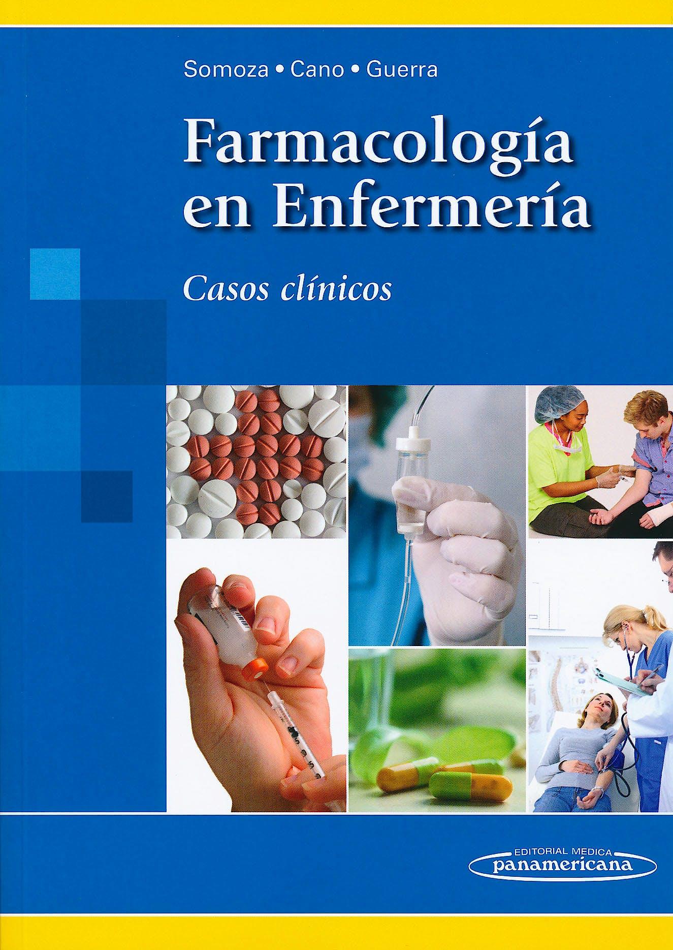 Portada del libro 9788498354119 Farmacología en Enfermería. Casos Clínicos