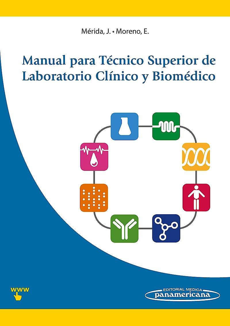 Portada del libro 9788498354232 Manual para Tecnico Superior de Laboratorio Clinico y Biomedico + Acceso Online