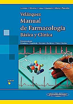 Portada del libro 9788498354379 Velázquez Manual de Farmacología Básica y Clínica