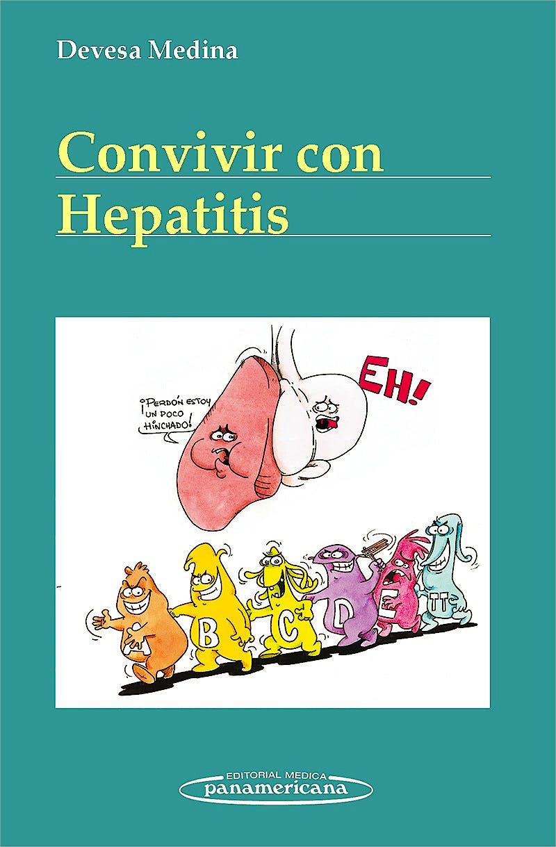 Portada del libro 9788498354478 Convivir con la Hepatitis
