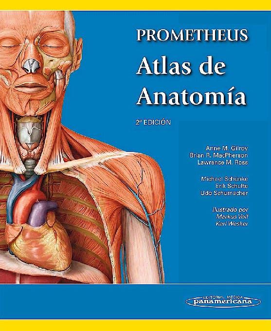 Portada del libro 9788498357080 PROMETHEUS Atlas de Anatomía