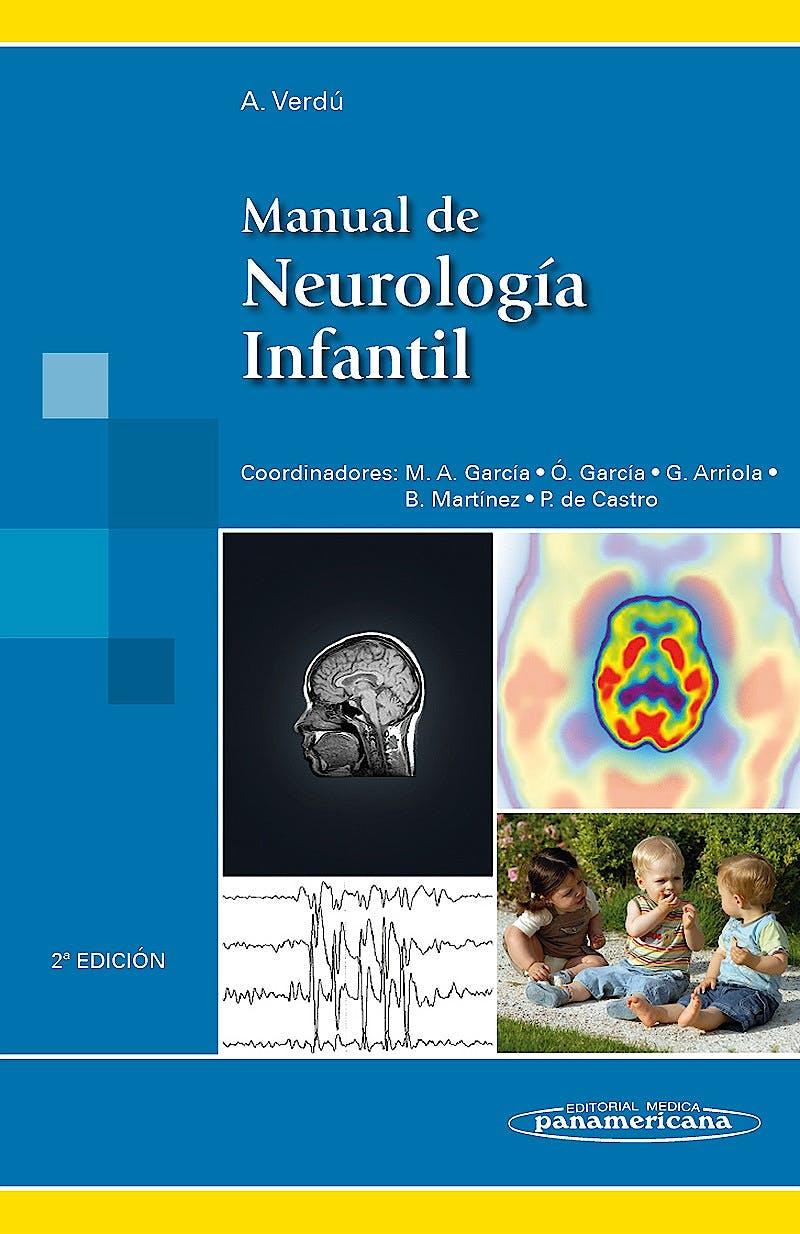 Portada del libro 9788498357851 Manual de Neurología Infantil