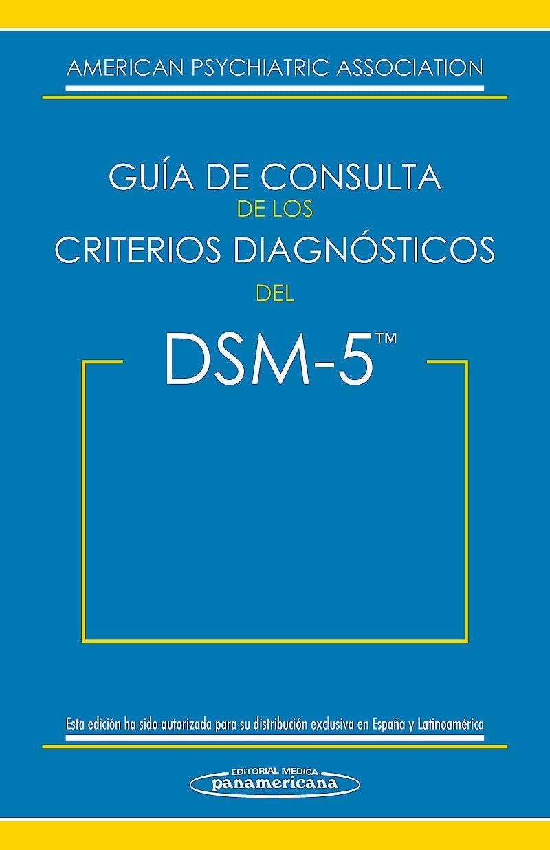 Portada del libro 9788498358094 Guía de Consulta de los Criterios Diagnósticos del DSM-5