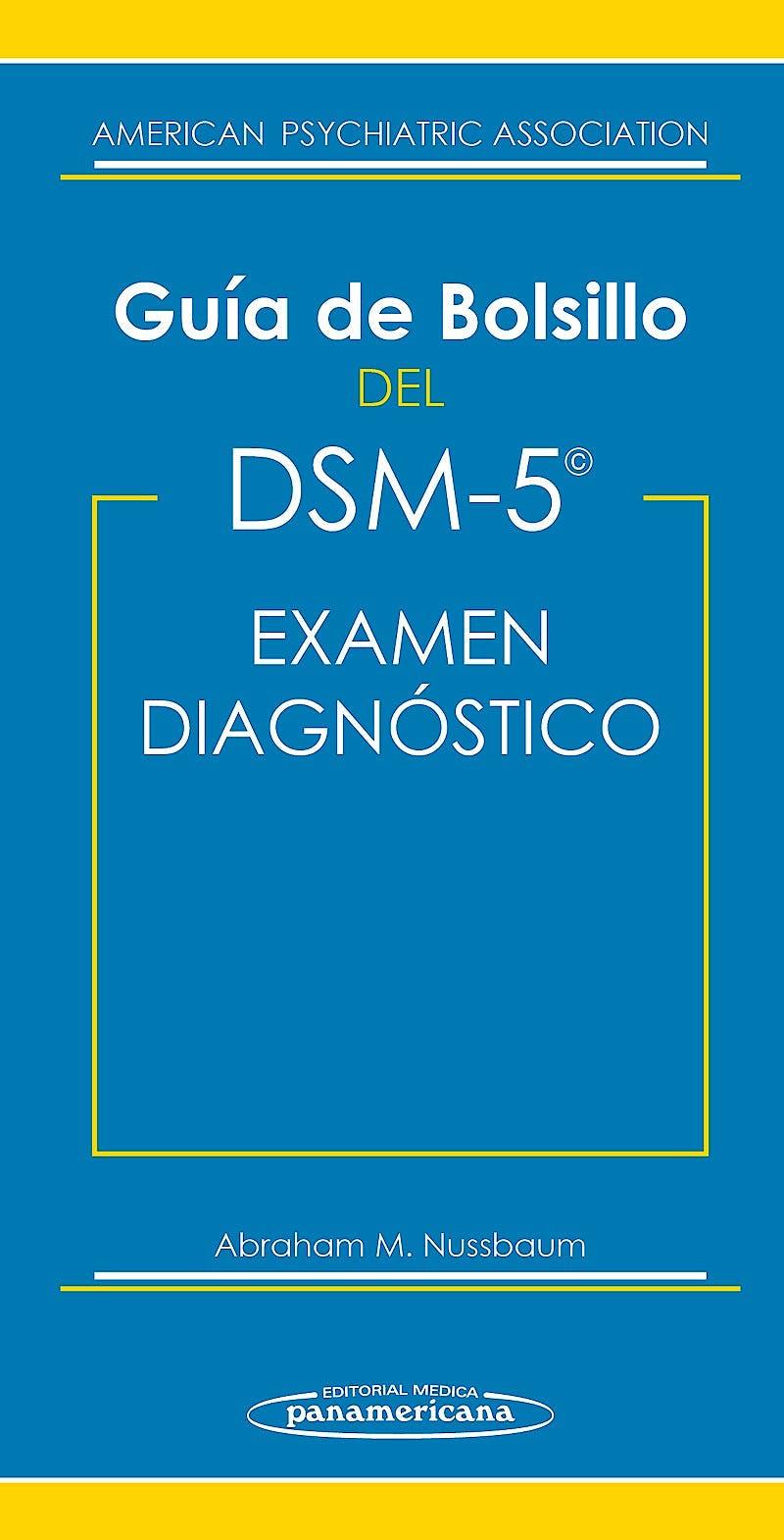 Portada del libro 9788498358513 Guía de Bolsillo del DSM-5 para el Examen Diagnóstico