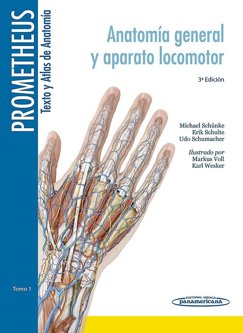 Portada del libro 9788498358933 Lote PROMETHEUS Texto y Atlas de Anatomía, 3 Tomos (+ Prometheus Póster de Anatomía de Regalo)