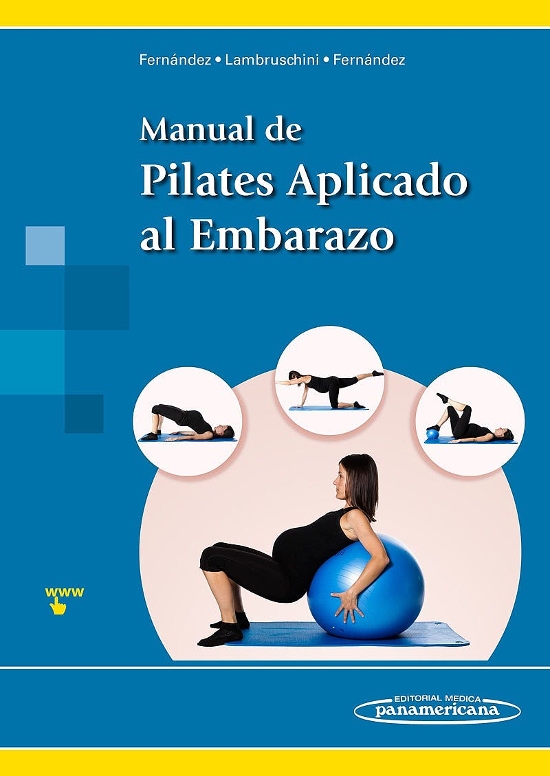 Portada del libro 9788498359022 Manual de Pilates Aplicado al Embarazo