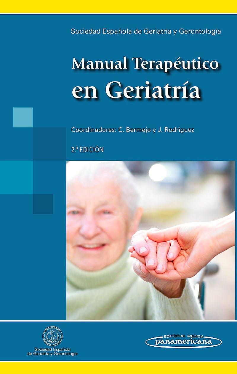 Portada del libro 9788498359497 Manual Terapéutico en Geriatría