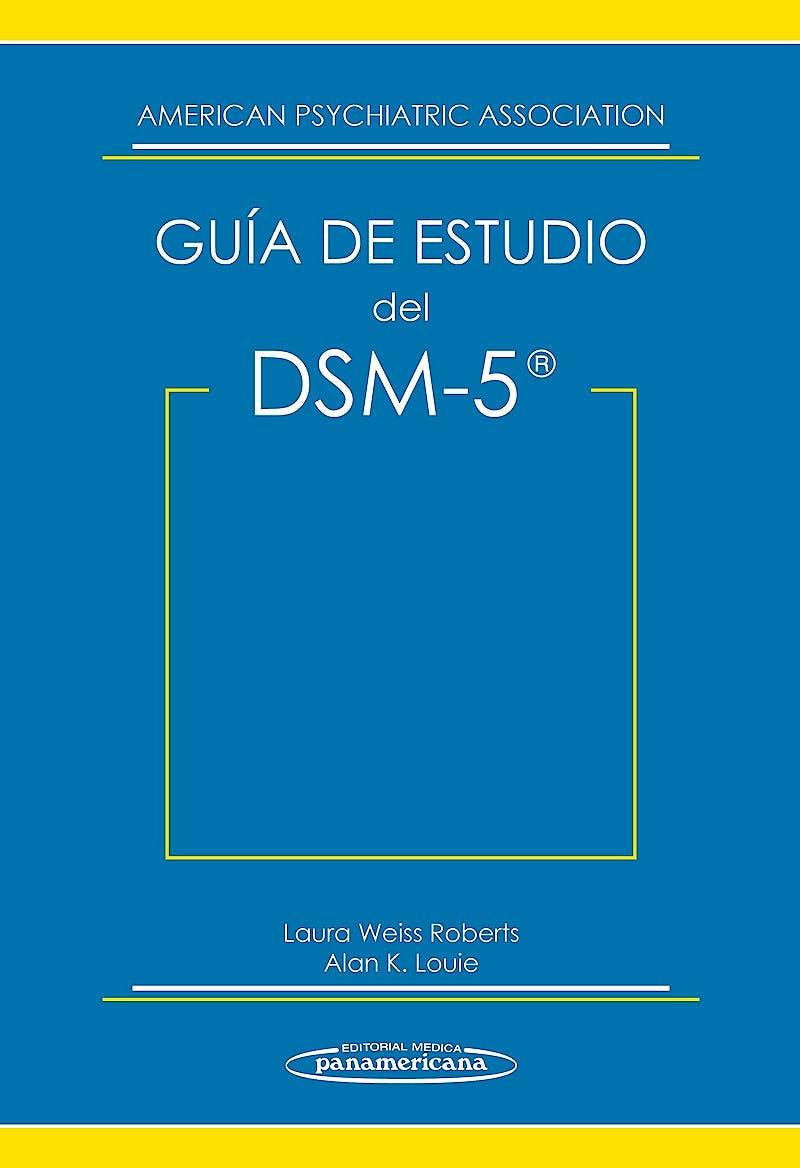 Portada del libro 9788498359749 Guía de Estudio del DSM-5