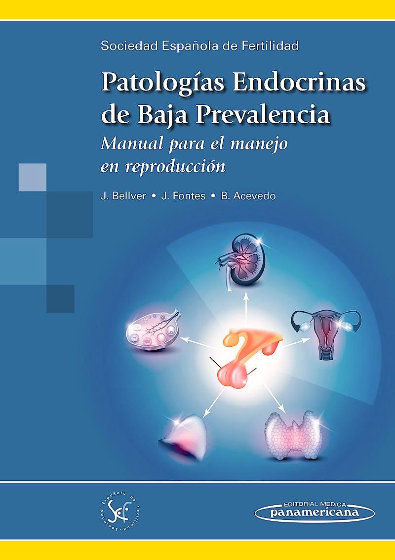 Portada del libro 9788498359909 Patologías Endocrinas de Baja Prevalencia. Manual para el Manejo en Reproducción