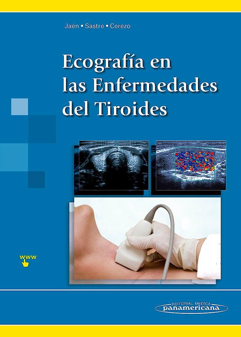 Portada del libro 9788498359923 Ecografía en las Enfermedades del Tiroides + Acceso Online