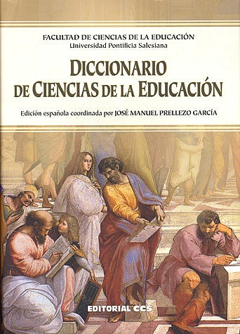 Portada del libro 9788498423174 Diccionario de Ciencias de la Educacion