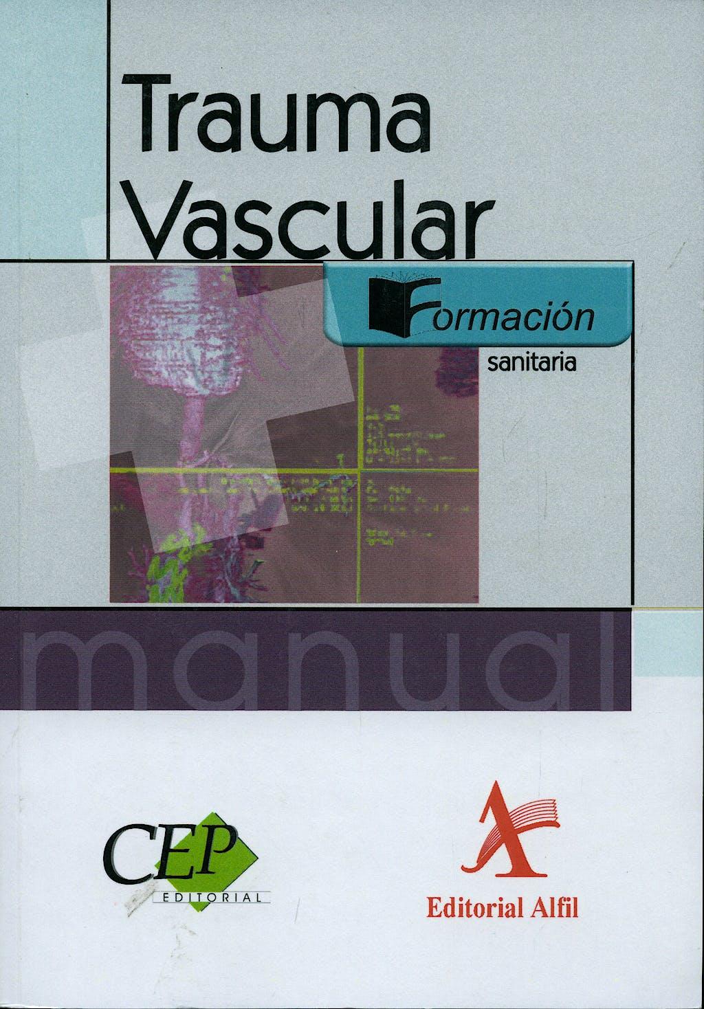 Portada del libro 9788498631739 Trauma Vascular