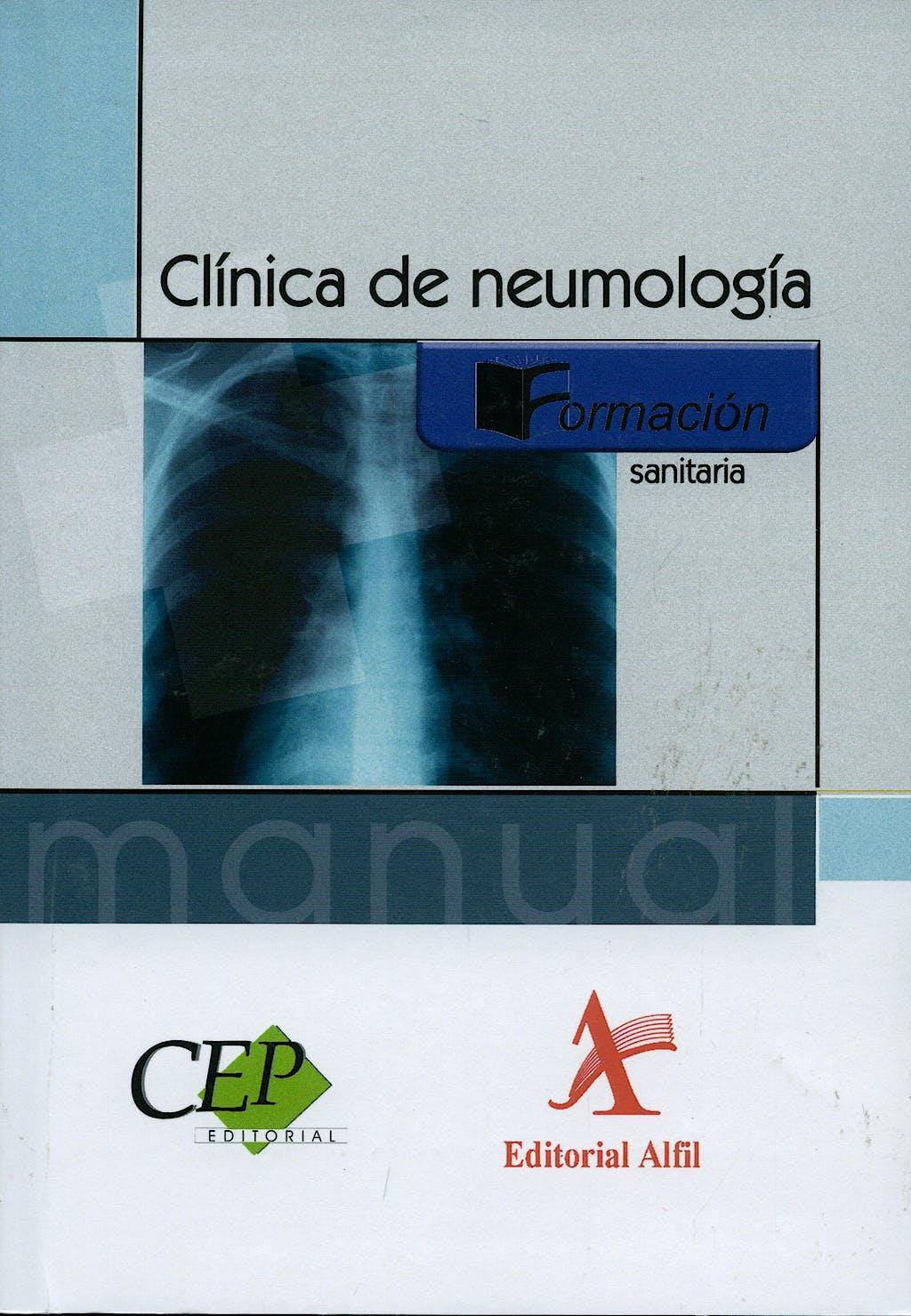 Portada del libro 9788498634822 Clinica de Neumologia