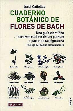 Portada del libro 9788498672077 Cuaderno Botanico de las Flores de Bach