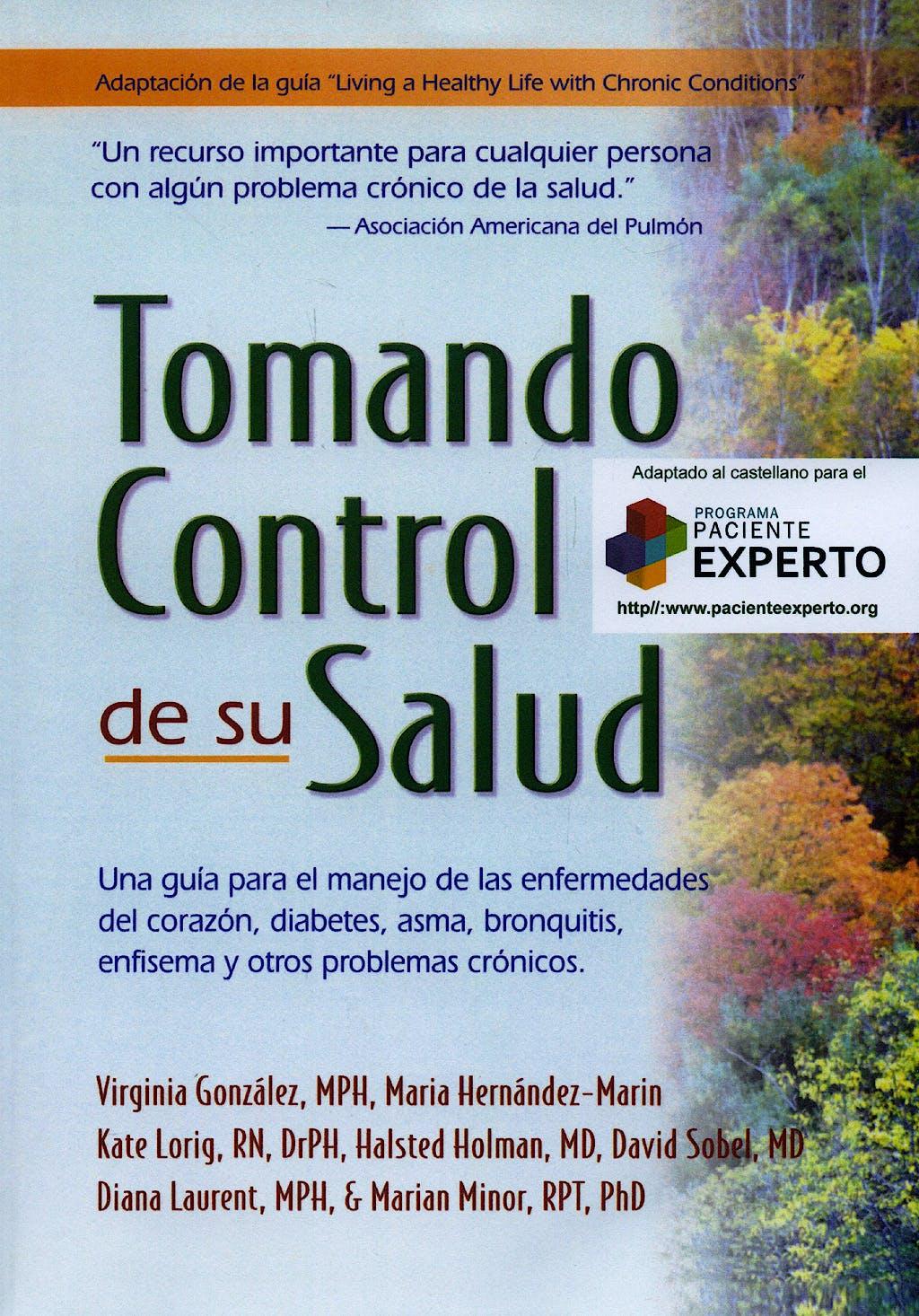 Portada del libro 9788498822038 Tomando Control de Su Salud