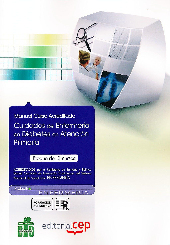 Portada del libro 9788498822830 Manual Cuidados de Enfermeria en Diabetes en Atencion Primaria