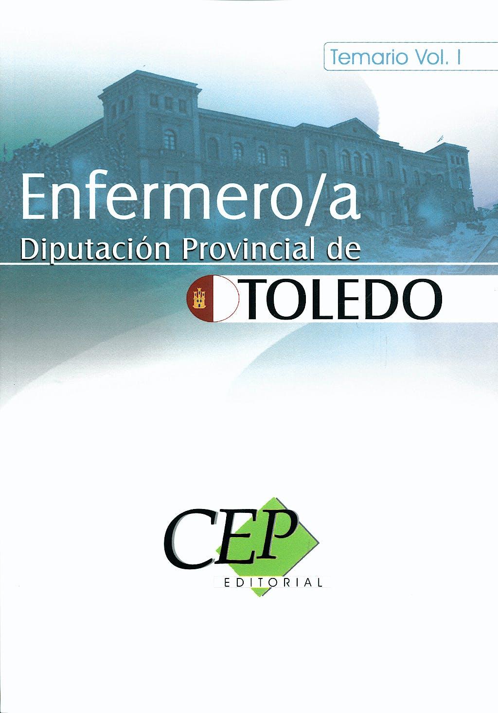 Portada del libro 9788498828818 Enfermero/a. Diputacion Provincial de Toledo. Temario Vol 1