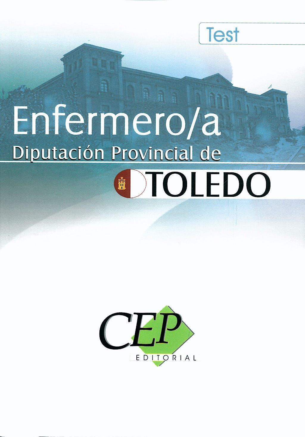 Portada del libro 9788498829303 Enfermero/a. Diputacion Provincial de Toledo. Test