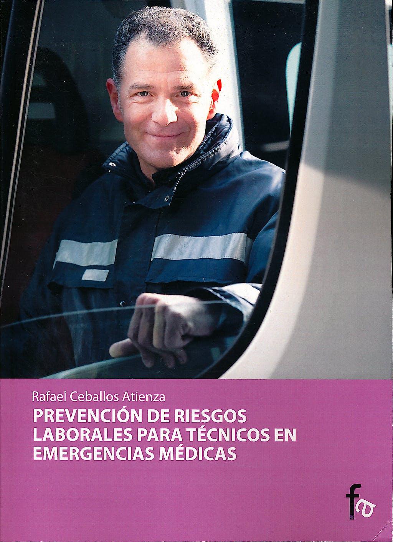 Portada del libro 9788498910223 Prevencion de Riesgos Laborales para el Tecnico en Emergencias Medicas