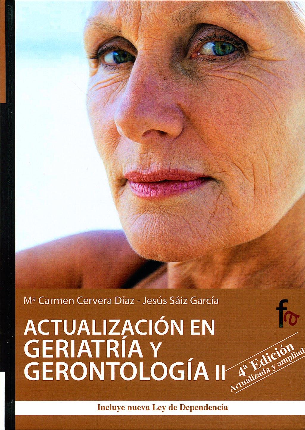 Portada del libro 9788498910360 Actualizacion en Geriatria y Gerontologia II