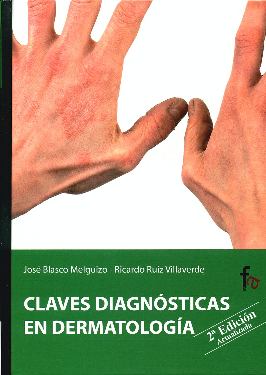 Portada del libro 9788498910698 Claves Diagnósticas en Dermatología