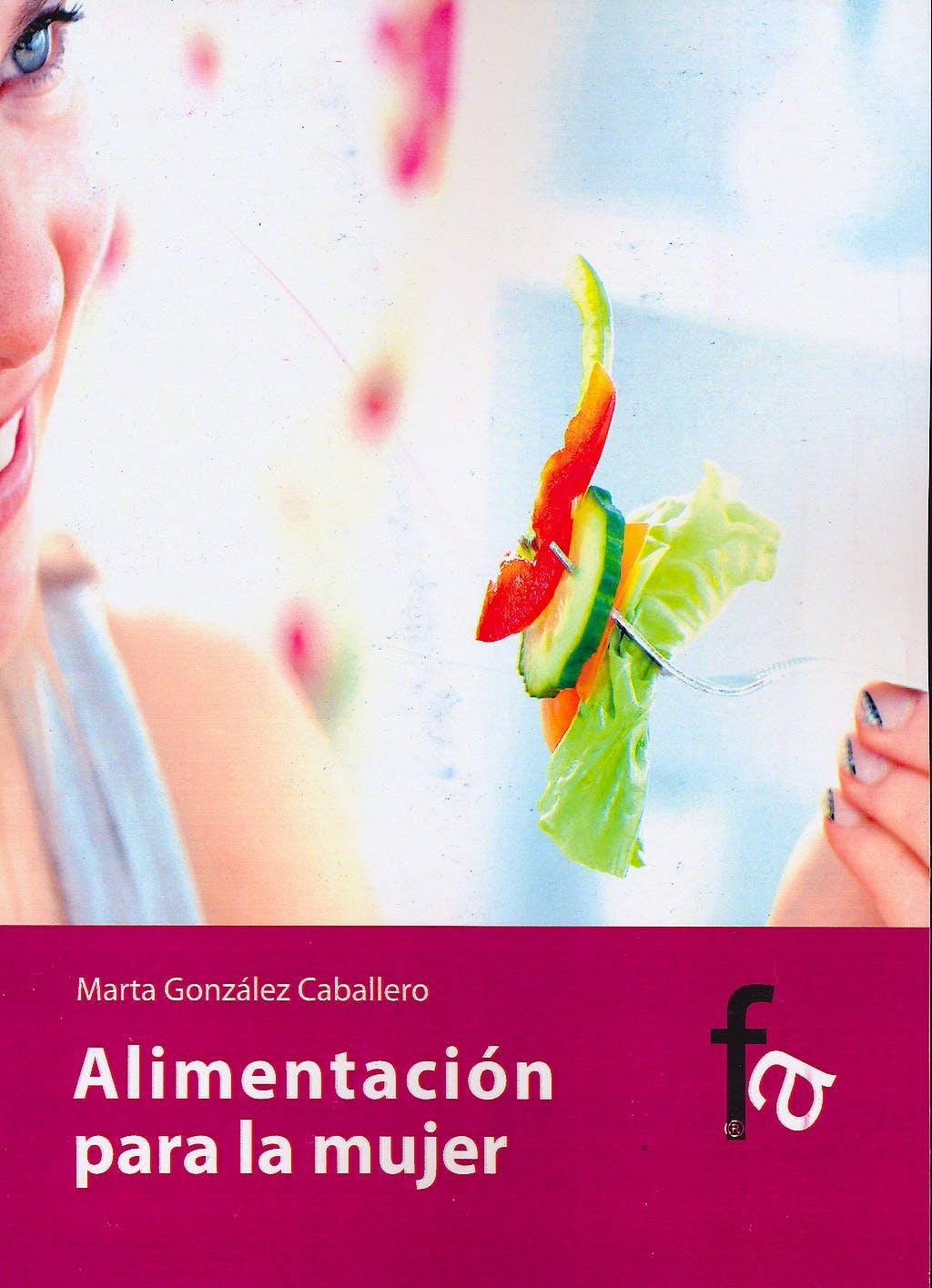 Portada del libro 9788498913460 Alimentación para la Mujer