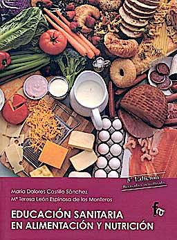 Portada del libro 9788498919240 Educacion Sanitaria en Alimentacion y Nutricion