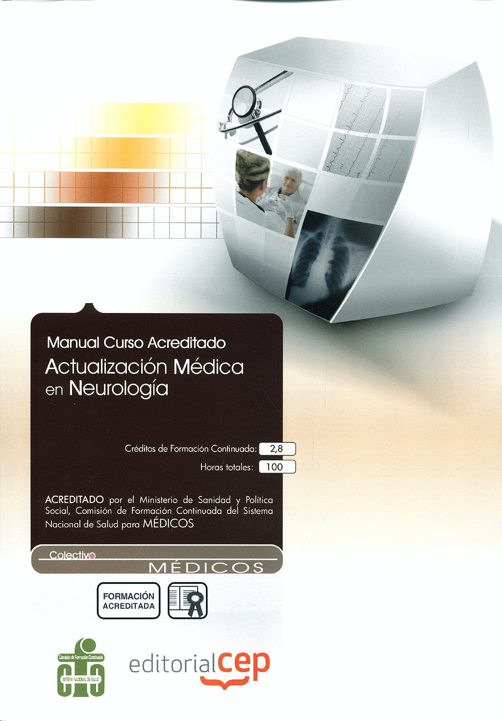 Portada del libro 9788499026770 Manual Actualizacion Medica en Neurologia