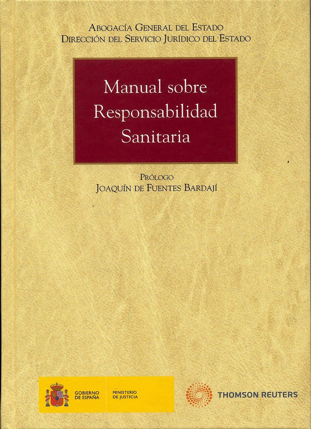 Portada del libro 9788499033327 Manual sobre Responsabilidad Sanitaria