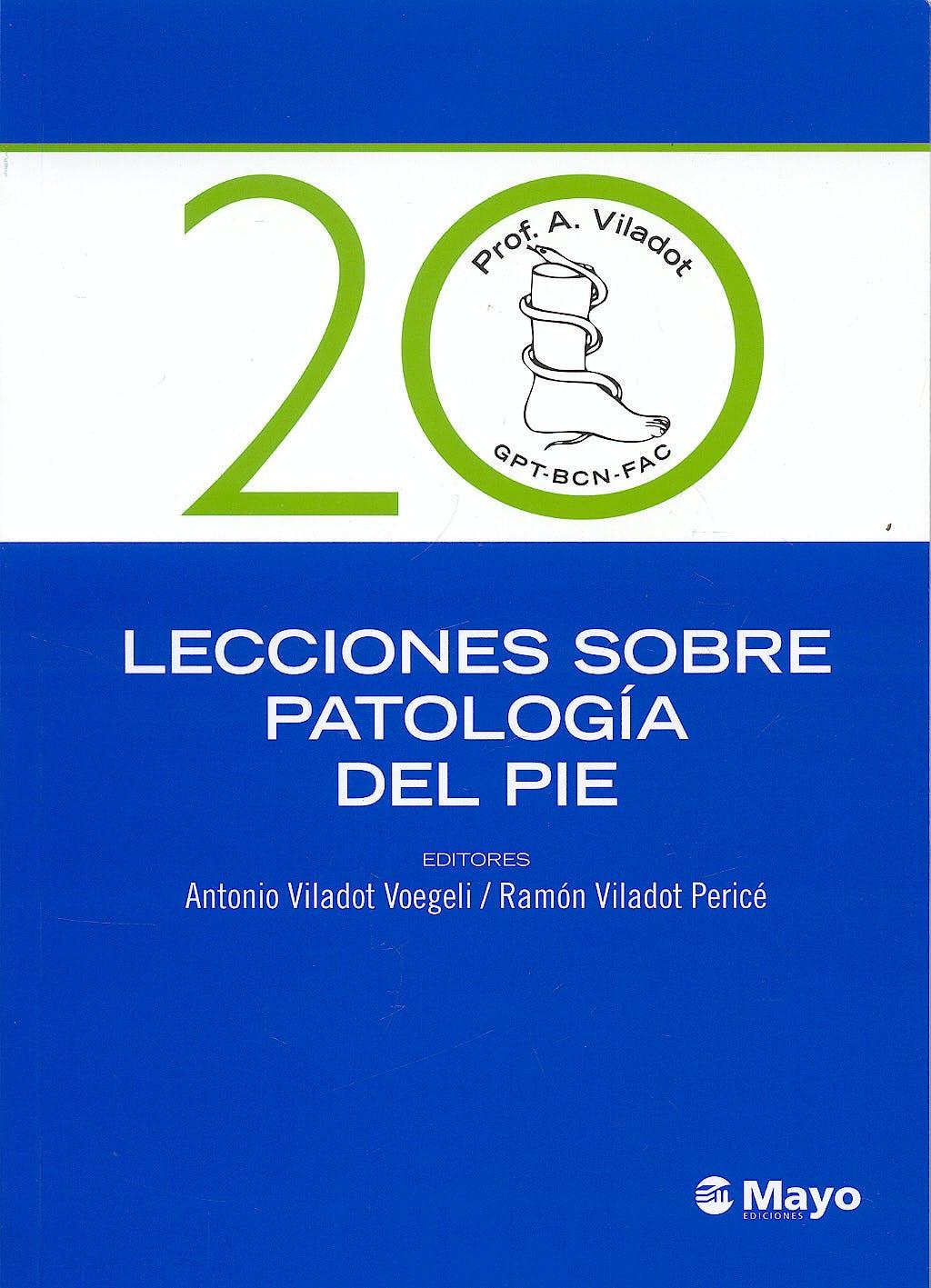 Portada del libro 9788499050263 20 Lecciones sobre Patología del Pie