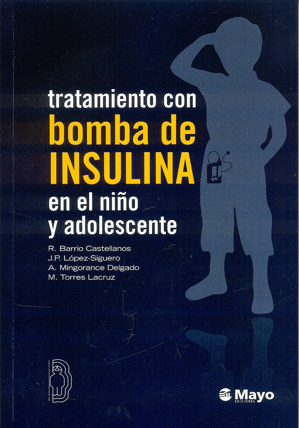 Portada del libro 9788499050300 Tratamiento con Bomba de Insulina en el Niño y Adolescente