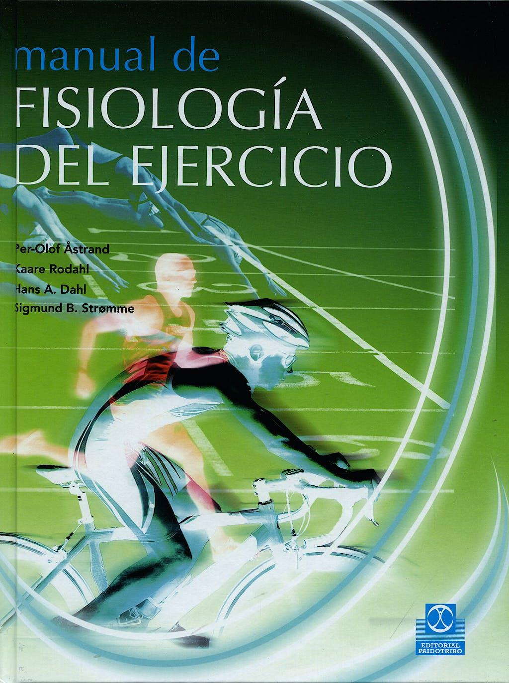 Portada del libro 9788499100128 Manual de Fisiologia del Ejercicio