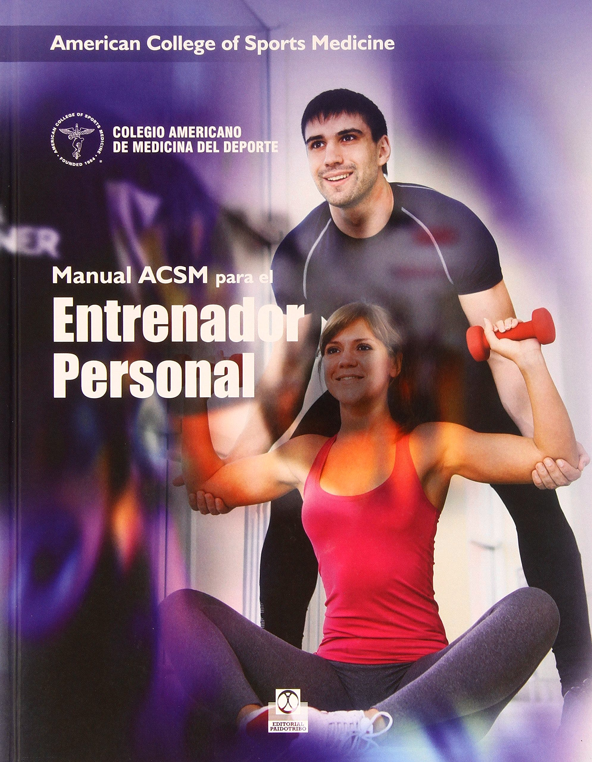 Portada del libro 9788499104942 Manual ACSM para el Entrenador Personal