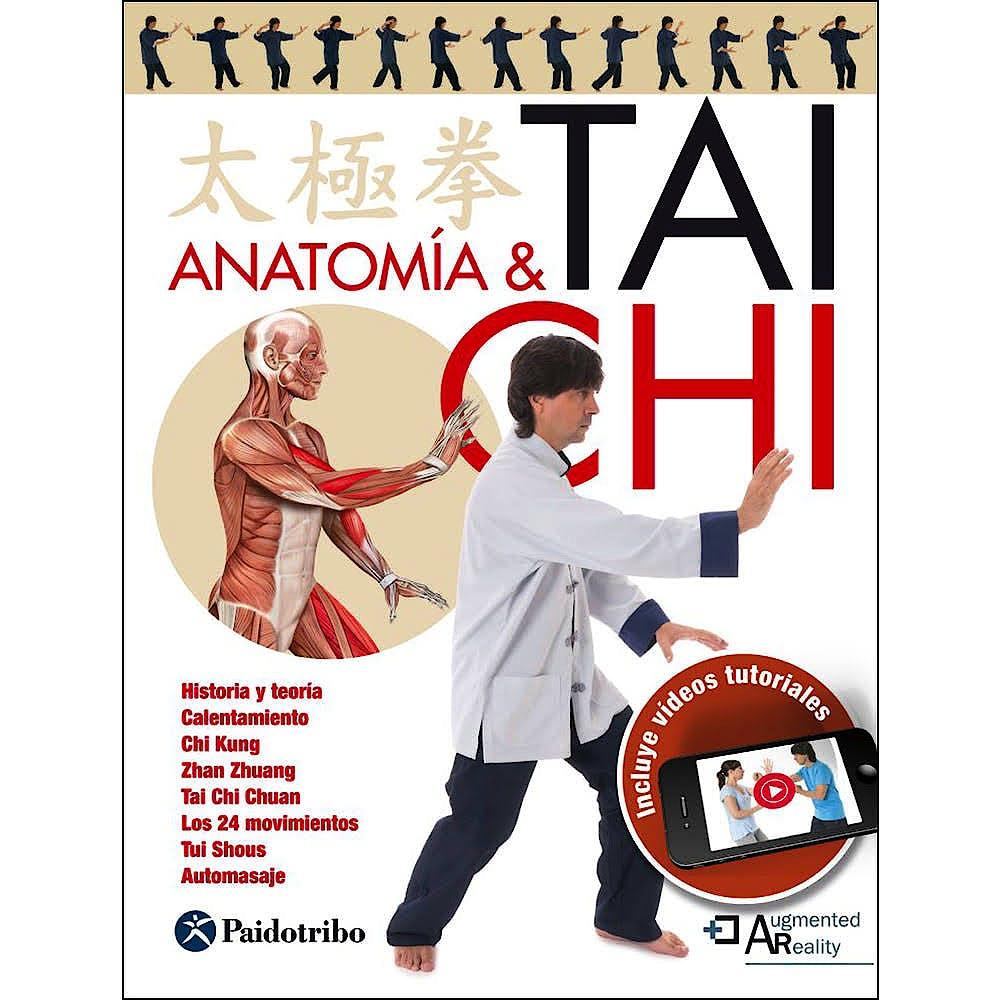 Portada del libro 9788499106311 Anatomía y Tai Chi + Videos