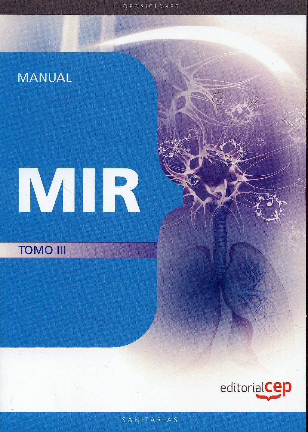 Portada del libro 9788499249995 Manual MIR, Tomo III