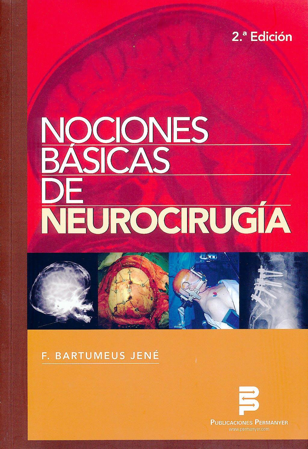 Portada del libro 9788499263014 Nociones Básicas de Neurocirugía