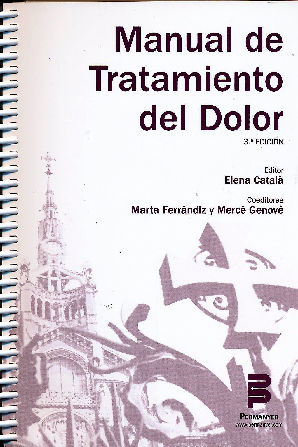 Portada del libro 9788499268422 Manual de Tratamiento del Dolor