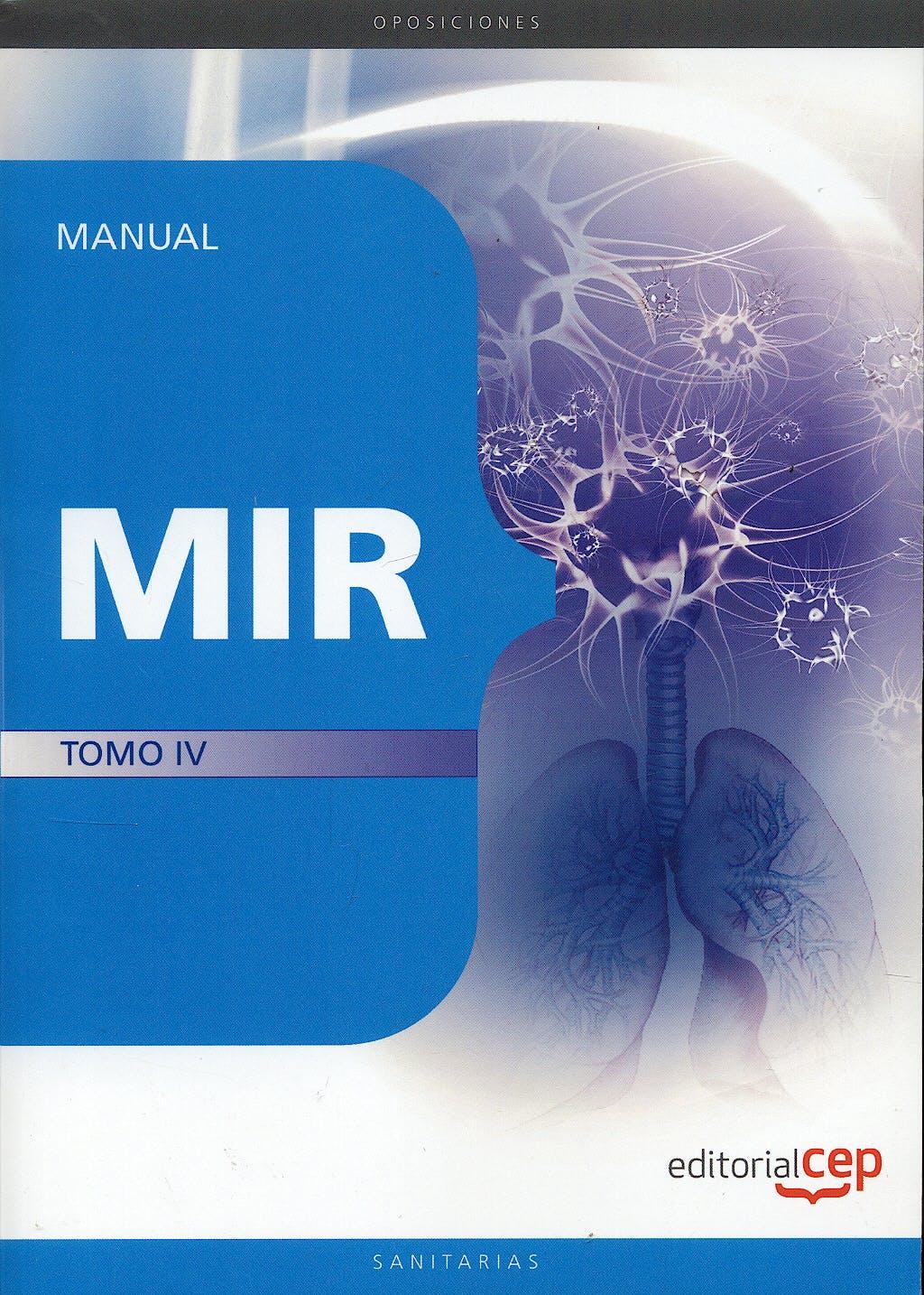Portada del libro 9788499370002 Manual MIR, Tomo IV