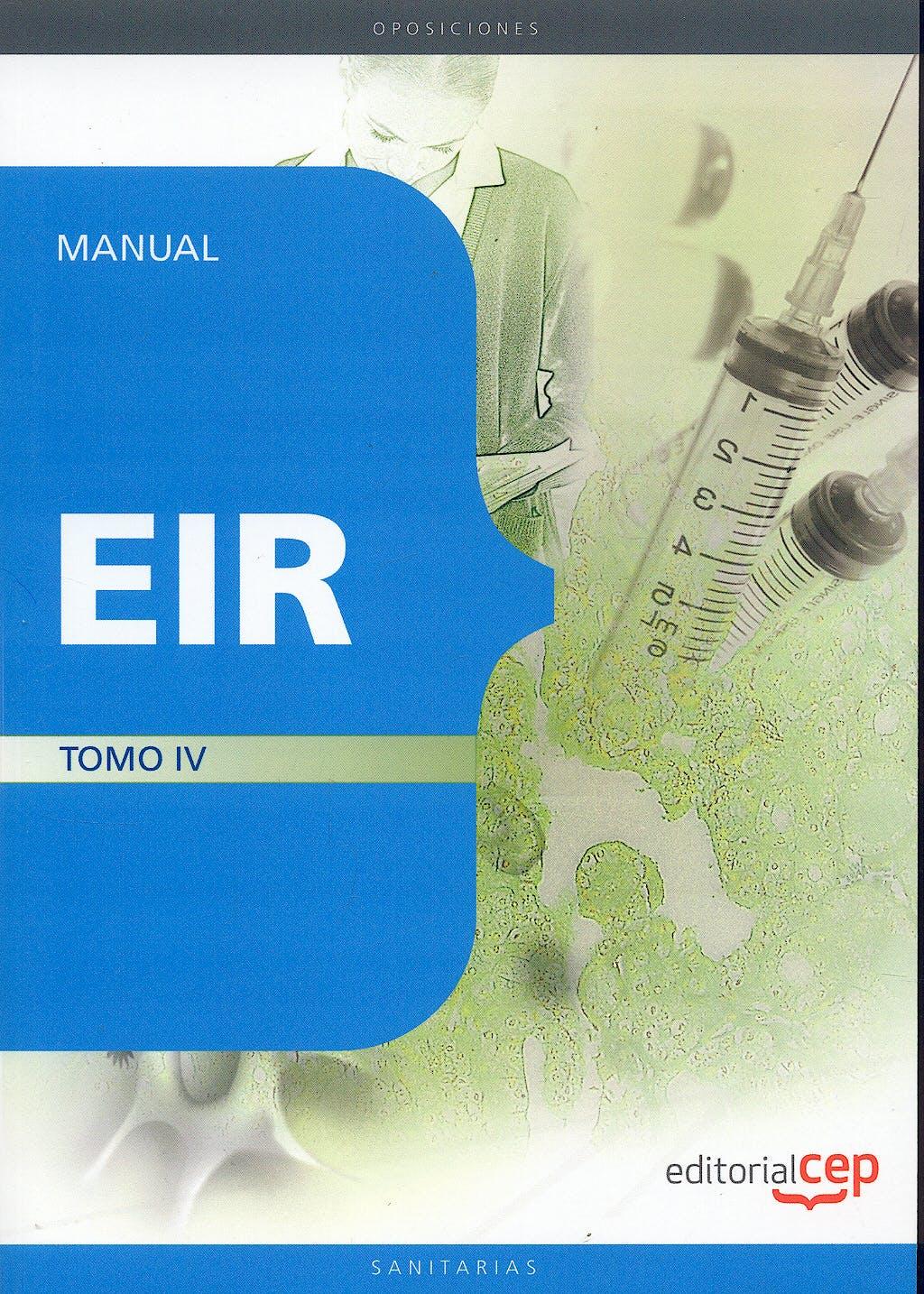 Portada del libro 9788499370101 Manual Eir, Tomo IV