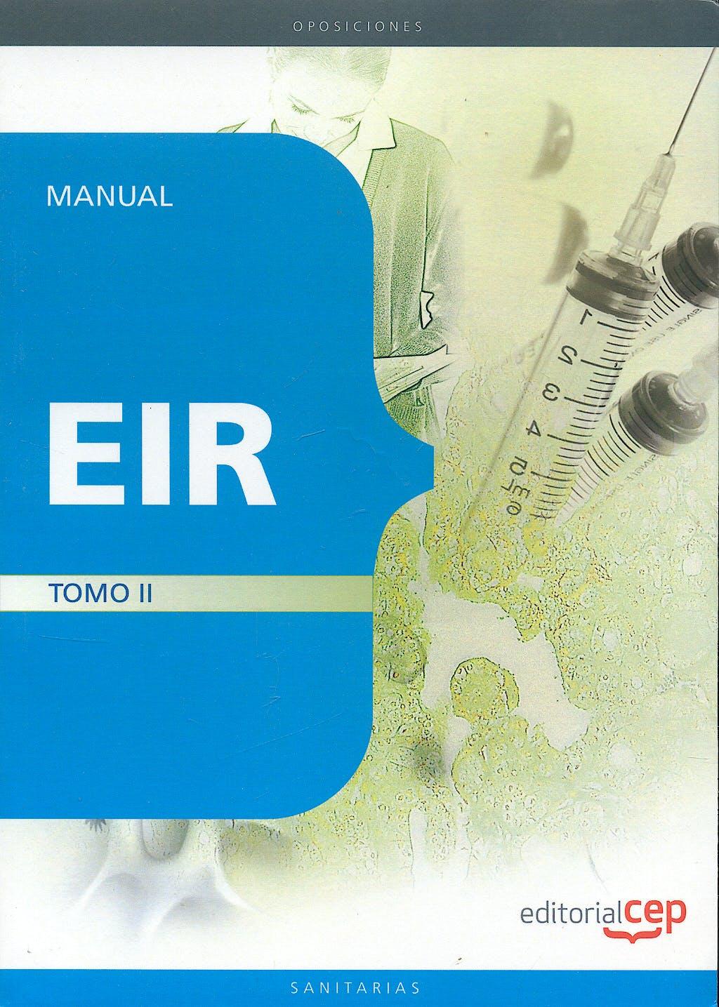 Portada del libro 9788499372297 Manual Eir, Tomo II